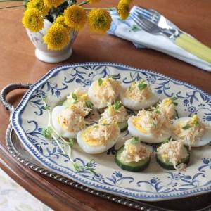 Cheese & Garlic Salad