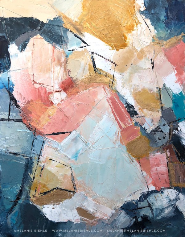 Seattle Fine Artist Melanie Biehle Abstract Painting And