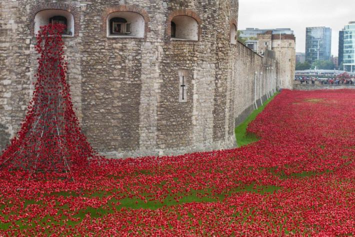 Tower of London Poppies, Scottish Travel Blog