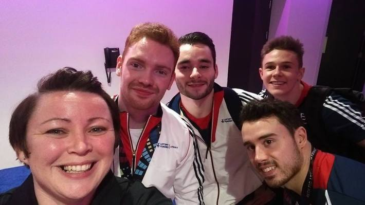 World Champ Gymnastics, Glasgow, Volunteering