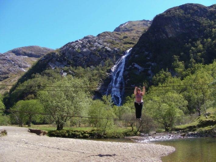 Steall Falls, Walking in Scotland, Scottish Travel Guide
