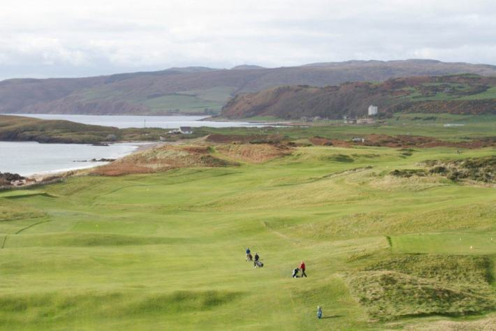 Dunaverty Golf, Seasgair, A Scottish Travel Guide, Golf