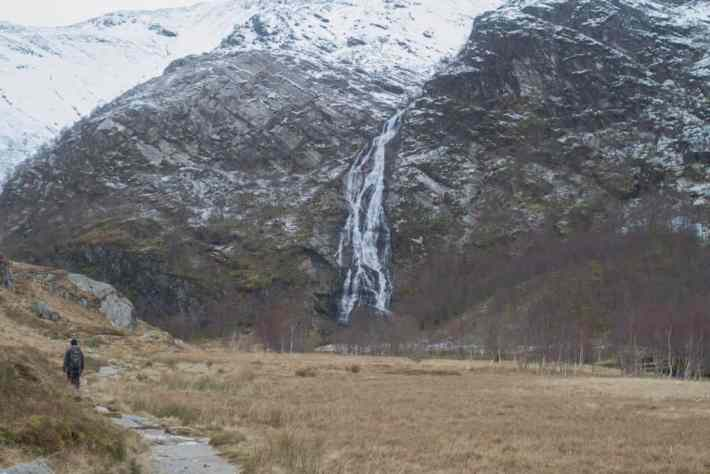 Steall Falls, Fort William, Scottish Travel Blog