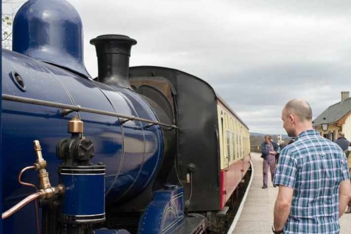 Strathspey Railway, Aviemore, Cairngorms, Scottish Travel Blog