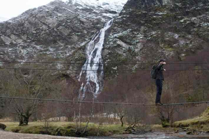 Steall Falls, Scotland Travel Blog