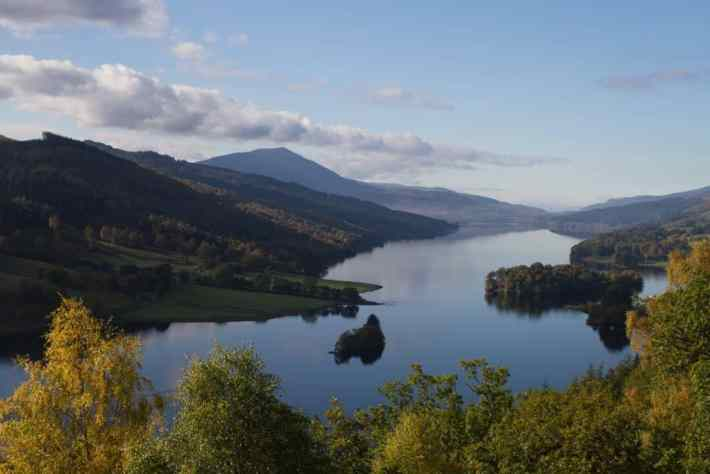 Queens View, Perthshire, Best time to visit Scotland, Scotland travel guide