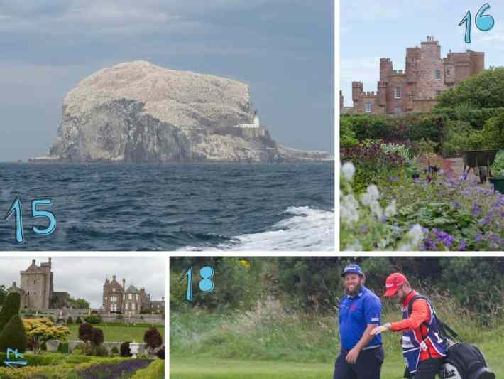 Bass Rock, Castle of Mey, Scottish Travel Blog