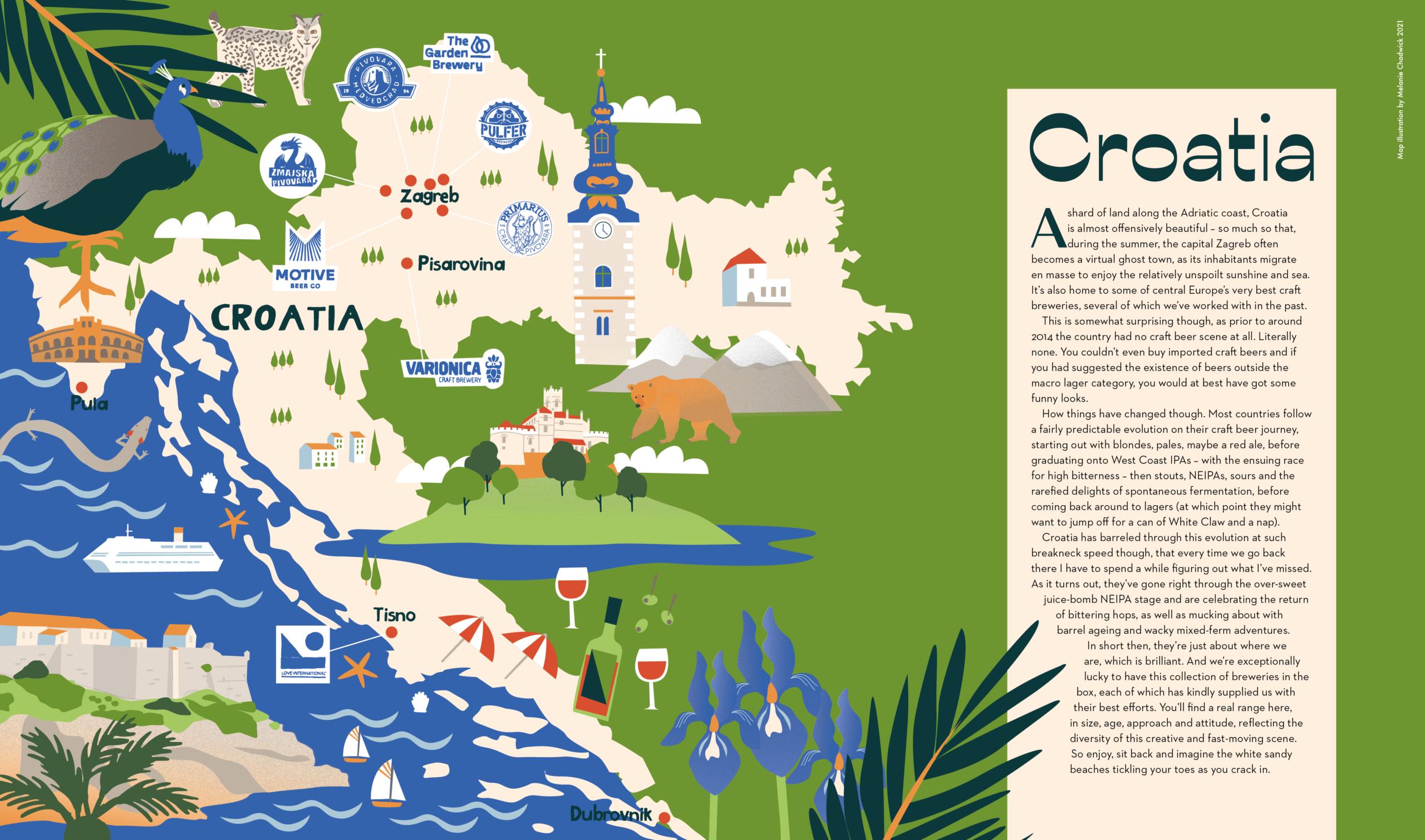 Croatia-Map-Melanie-Chadwick