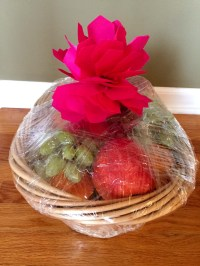 Easy DYI Fruit Basket Homemade Gift Idea  Melanie Cooks