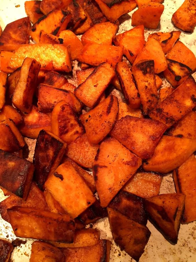 Easy Pan Fried Sweet Potatoes Recipe – Melanie Cooks