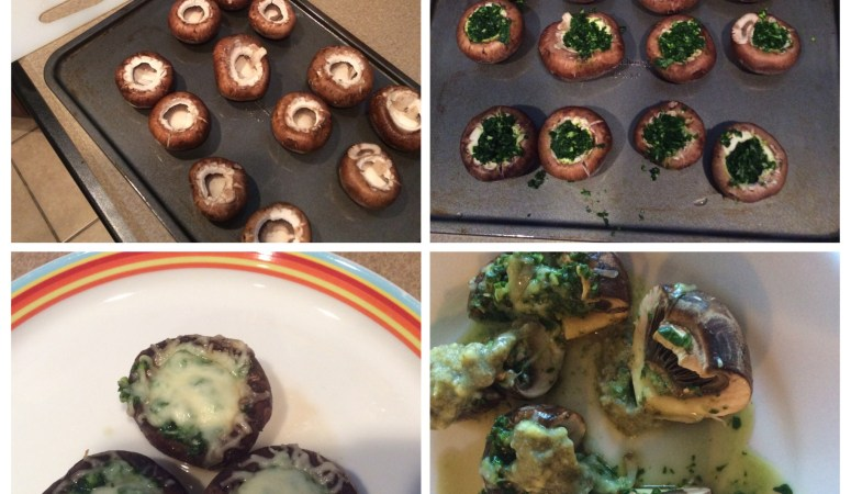 Stuffed mushrooms anyone?