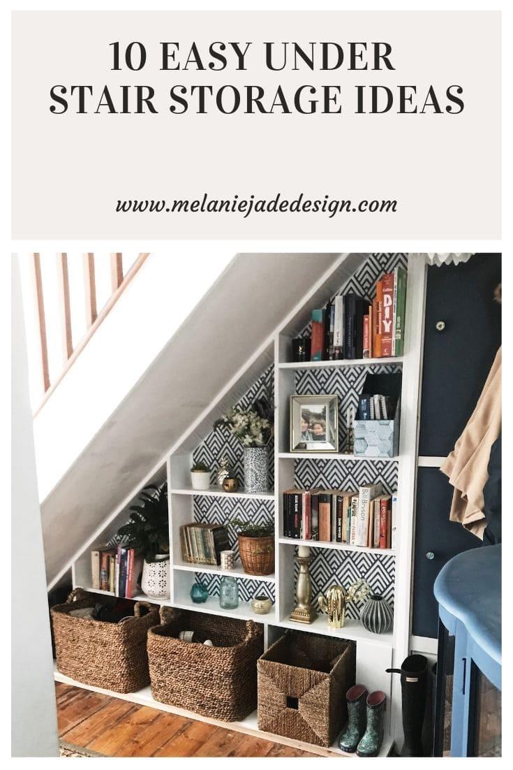 10 easy under stair storage ideas