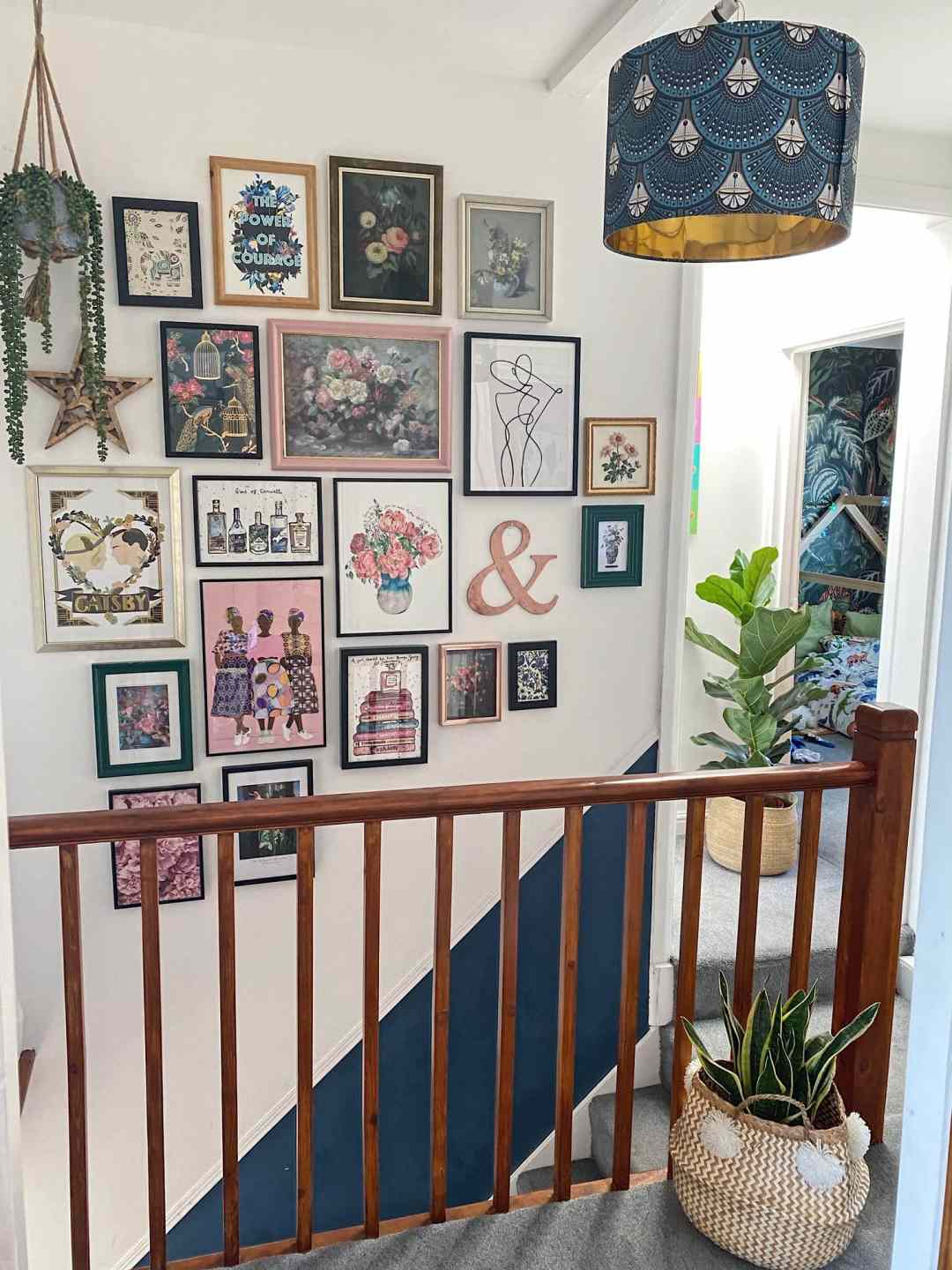 10 Easy Steps to Putting Up a Gallery Wall
