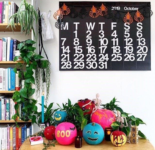 halloween, halloween decor, halloween ideas, autumn, autumn decor, home decor, home decor ideas, seasonal, pumpkins, decorations, interior decorations