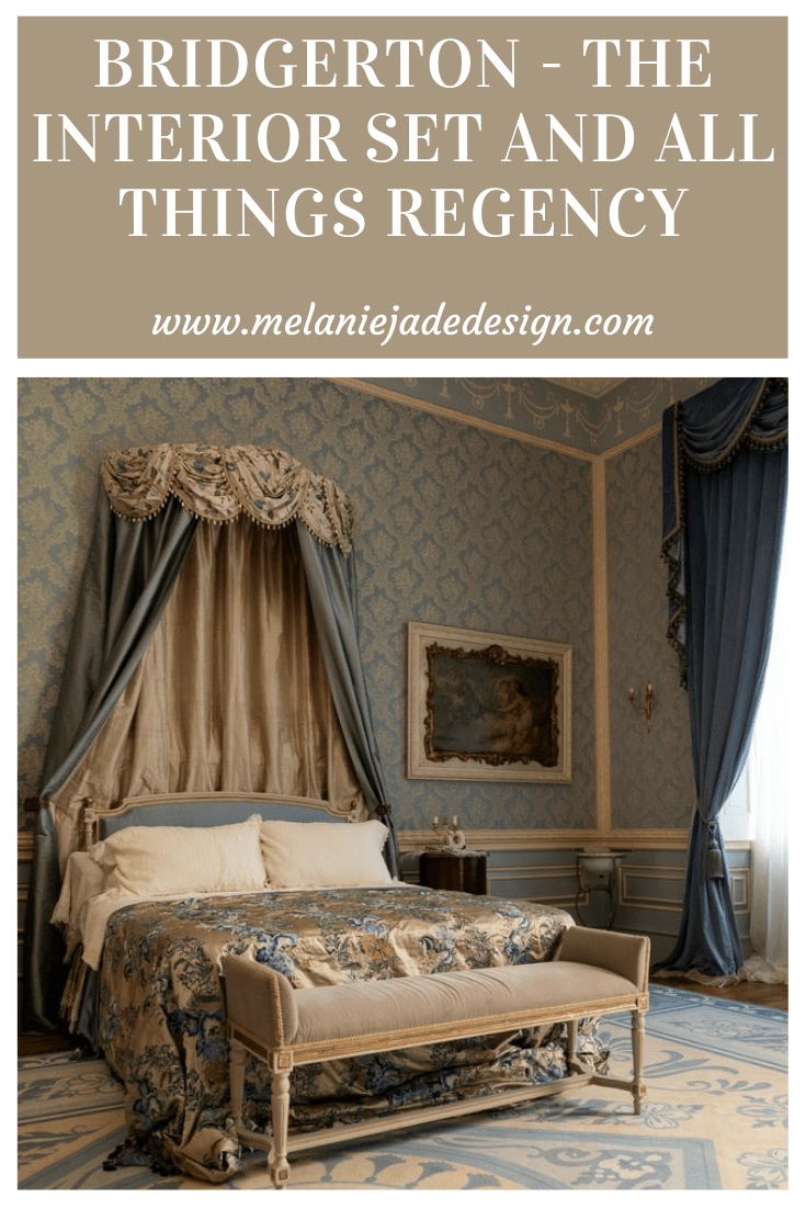 bridgerton, regency, interijeri, regencycore