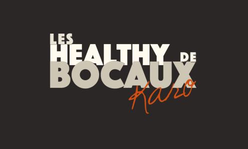 Réalisation de l'identité visuel des Healthy Bocaux de Karo