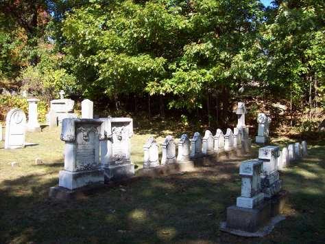 haunted headstone