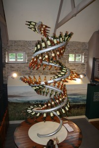 Display at the Glenlivet Distillery