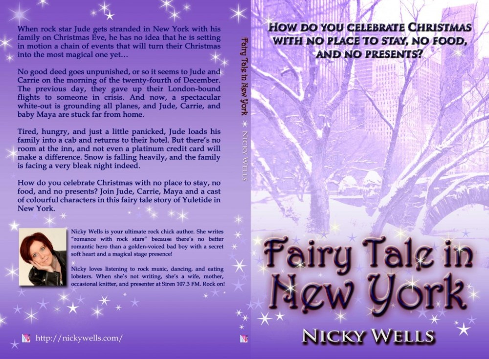 FAIRY TALE IN NEW YORK by Nicky Wells ~ Cover Reveal (2/3)