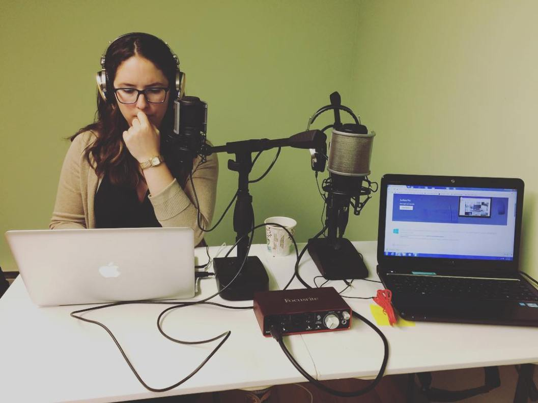 what is a podcast producer - melanie scroggins