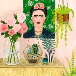 Frida - Gouache