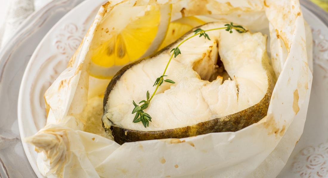Tranci di pesce al forno  Melarossa