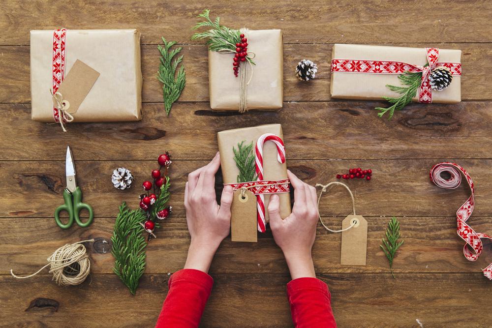 Pacco regalo 4 idee fai da te per Natale  Melarossa