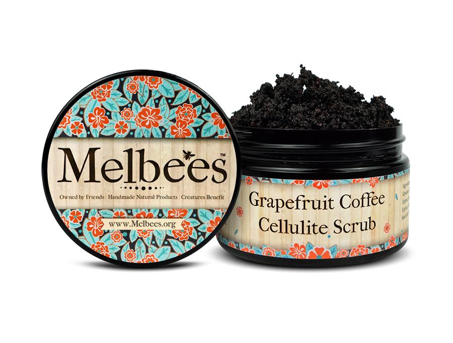 Grapefruit Coffee Cellulite Scrub | Melbees