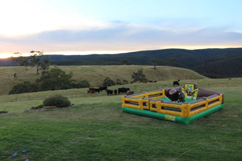 bullriding birthday melbourne