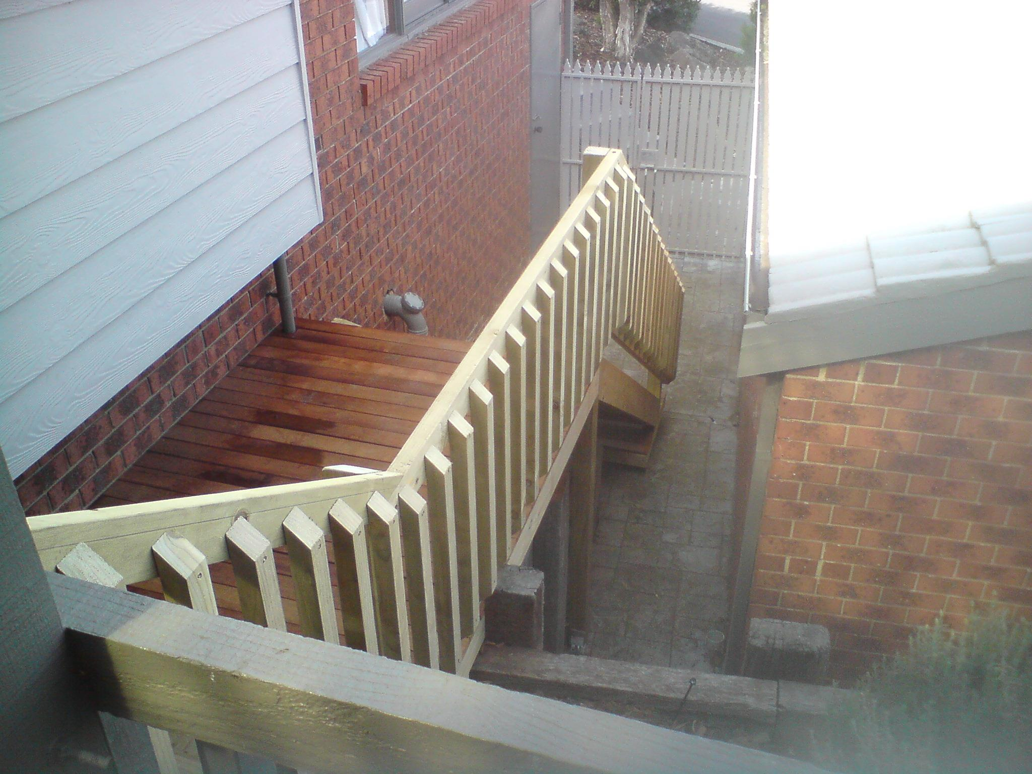 Melbourne Decking Builder - Stairs