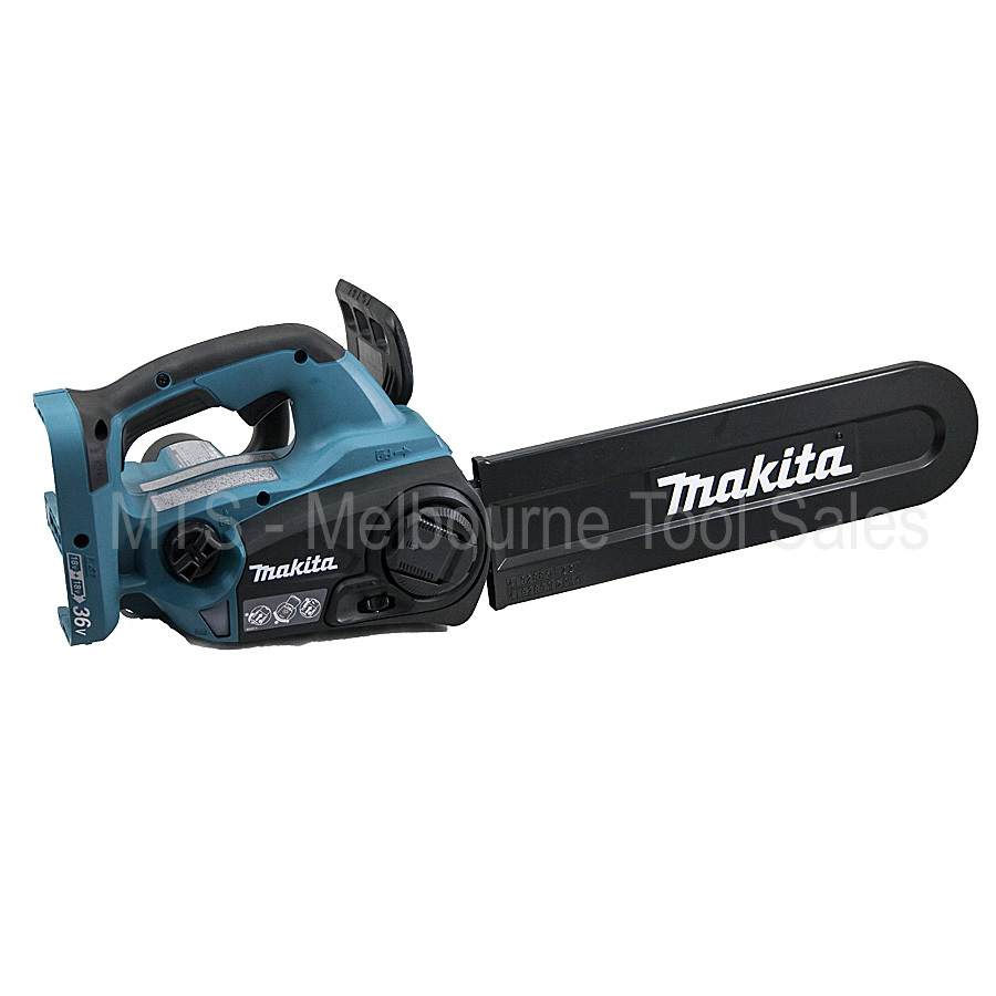 hight resolution of makita cordless chainsaw 18v x2 36v li ion xcu02 duc302 lith ion