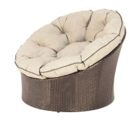 Papasan Round Wicker Pod Chair