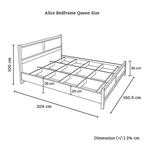 Buy Alice Bed Online in Melbourne, Australia