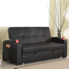 Pu Leather Sofa Bed Melbourne Reclining And Loveseat Furniture Online | Buy Discounted In ...