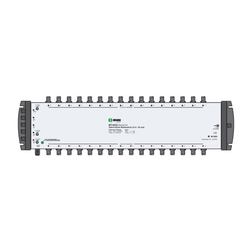 IKUSI 5-Wire 4x SAT / 1x TER Distribution System Multi-switches