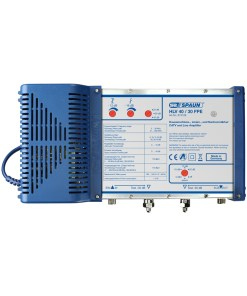 Spaun HLV40/30FPE Distribution Amplifier, Terrestrial, Selectable 20, 30, 40dB Gain