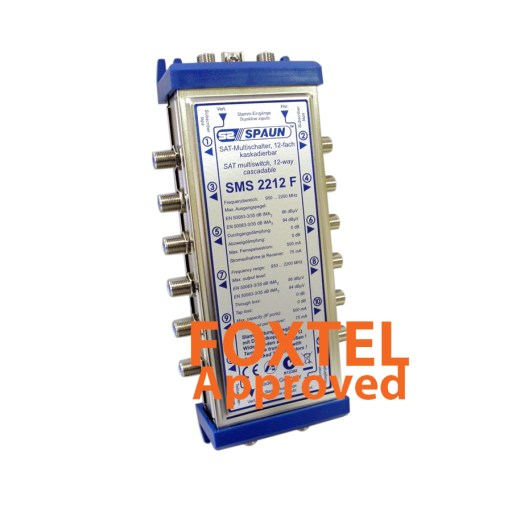 Spaun SMS2212 Cascadable Multi-switch, 2-Wire, 12 Output