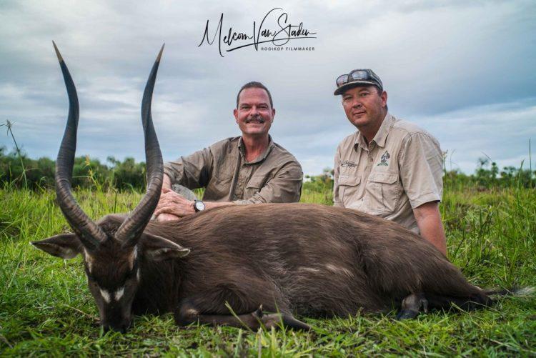 Melcom Van Staden - Uganda Wildlife Safaris Hunting Sitatunga - Kafu River Swamps