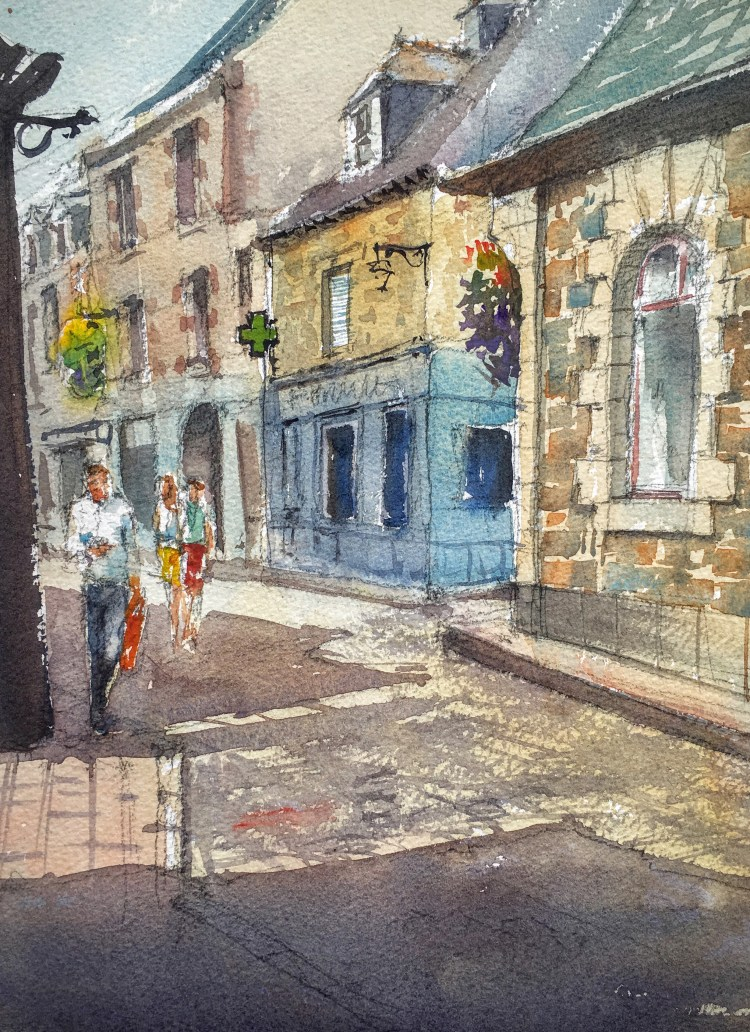 The streets of Paimpol