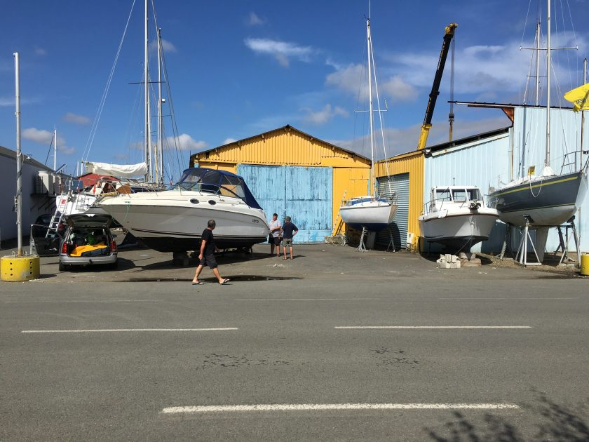 Photo of the Paimpol harbour area