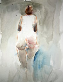 Five minute watercolour figure painting