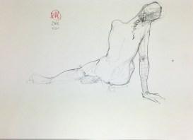 Meldrum - life drawing #2