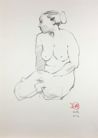 Meldrum life drawing 20161112