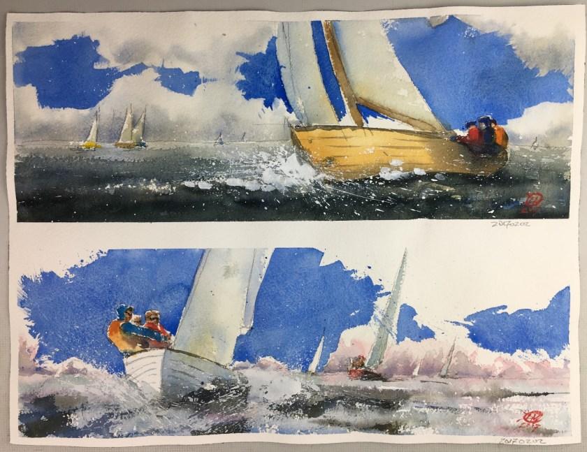 Folk boats