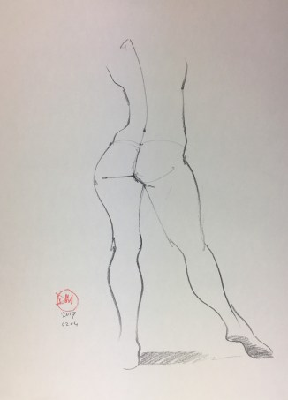 David Meldrum - life drawing