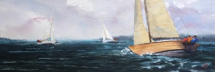 Folkbåt regatta nr.2