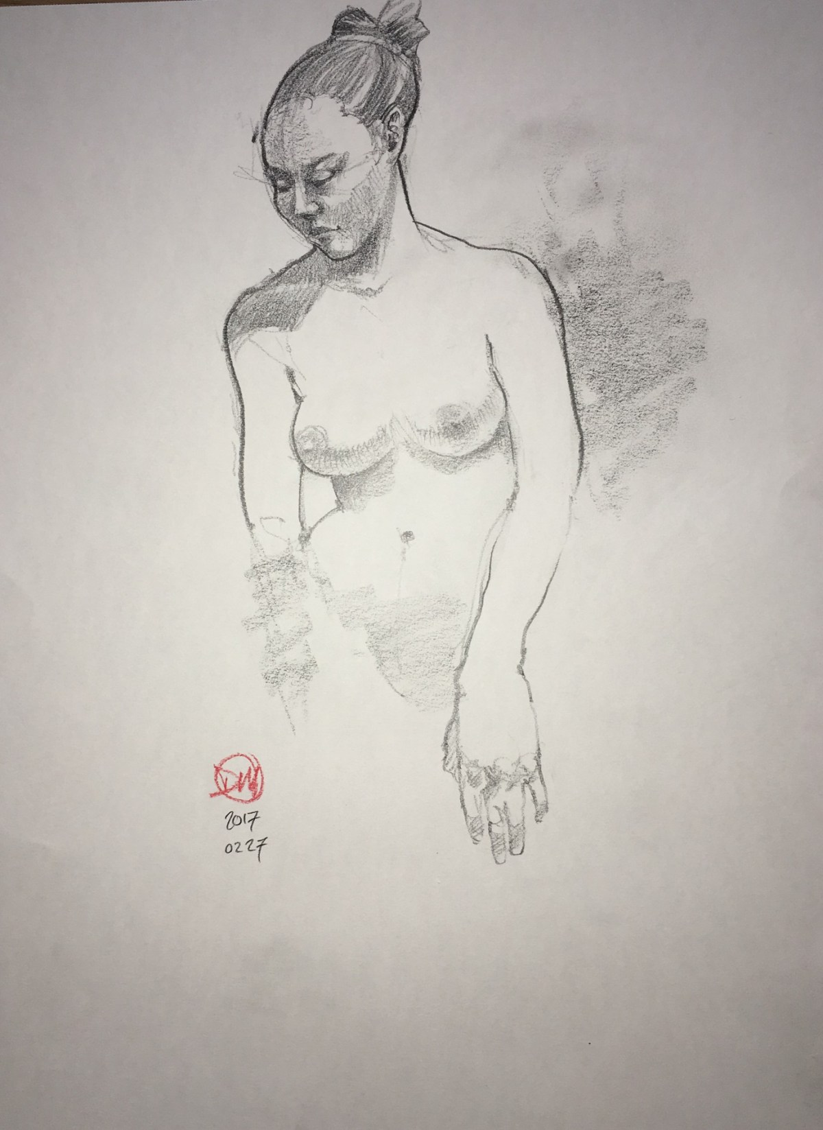 Monday's life drawing