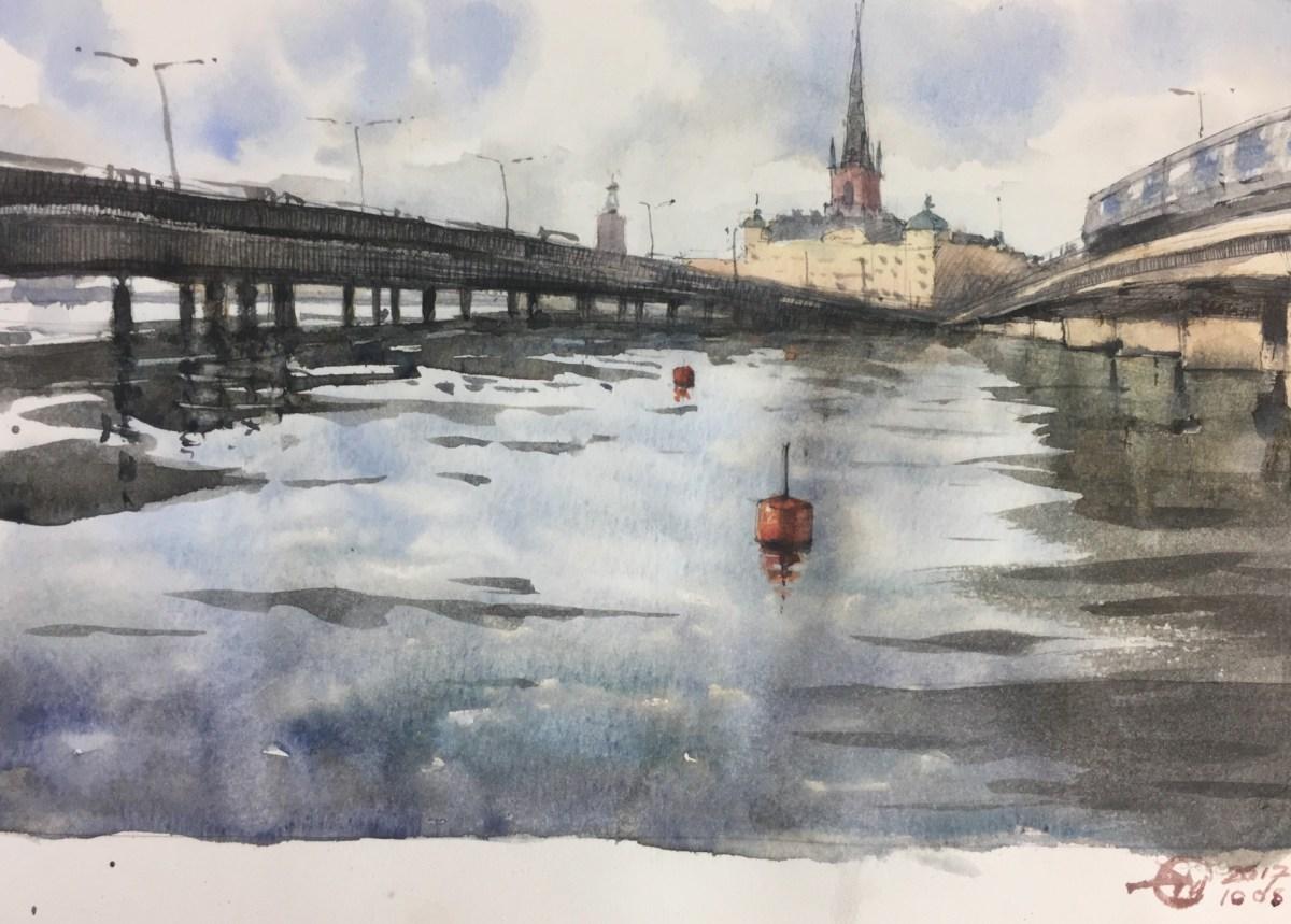 stockholm sketch by meldrum