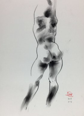 David Meldrum Kroki - Life drawing