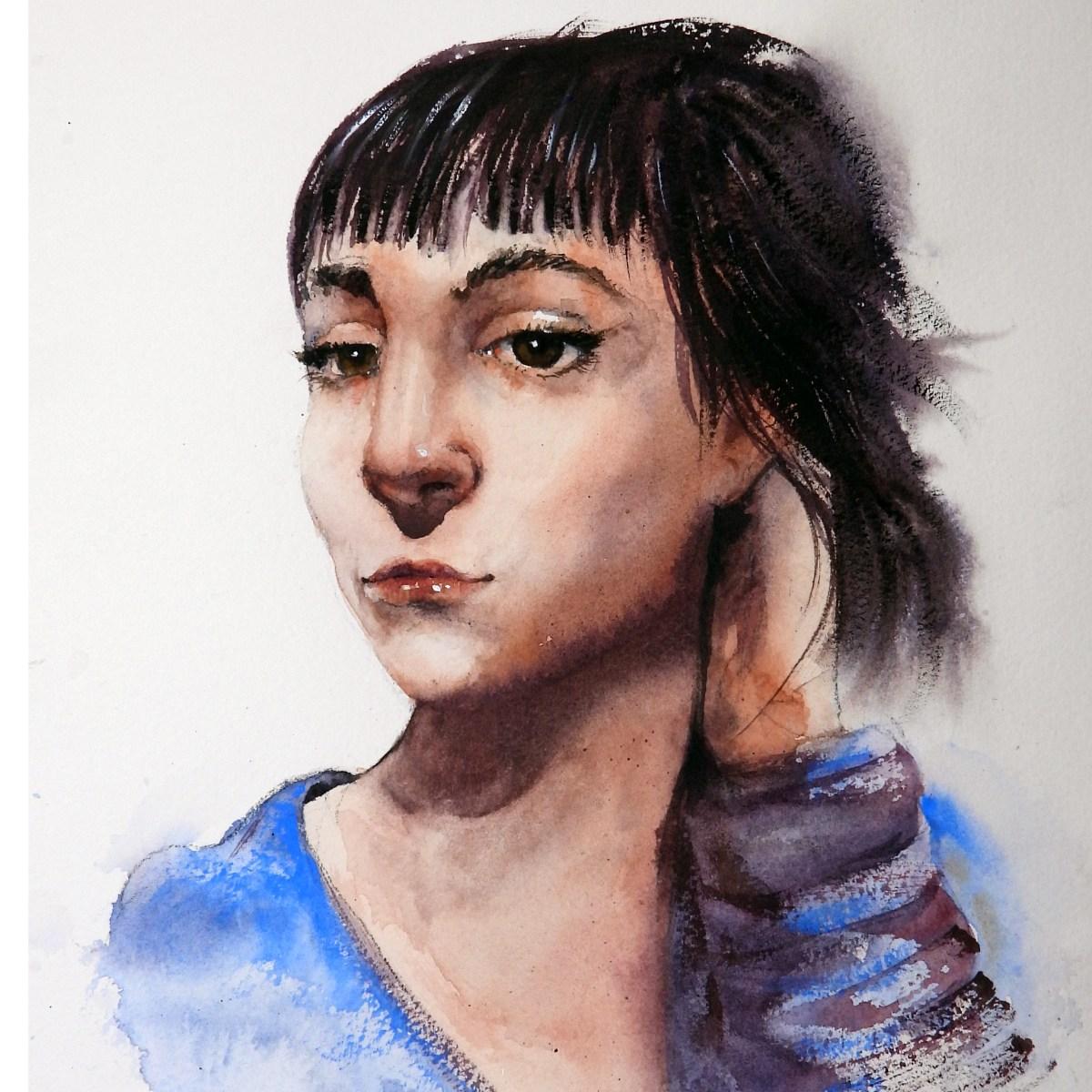 Portrait practice continues